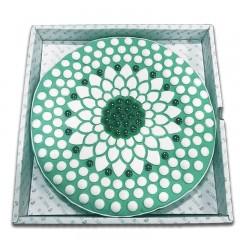 拜欧仁康 寒水石理疗器 BZ型 绿色礼盒