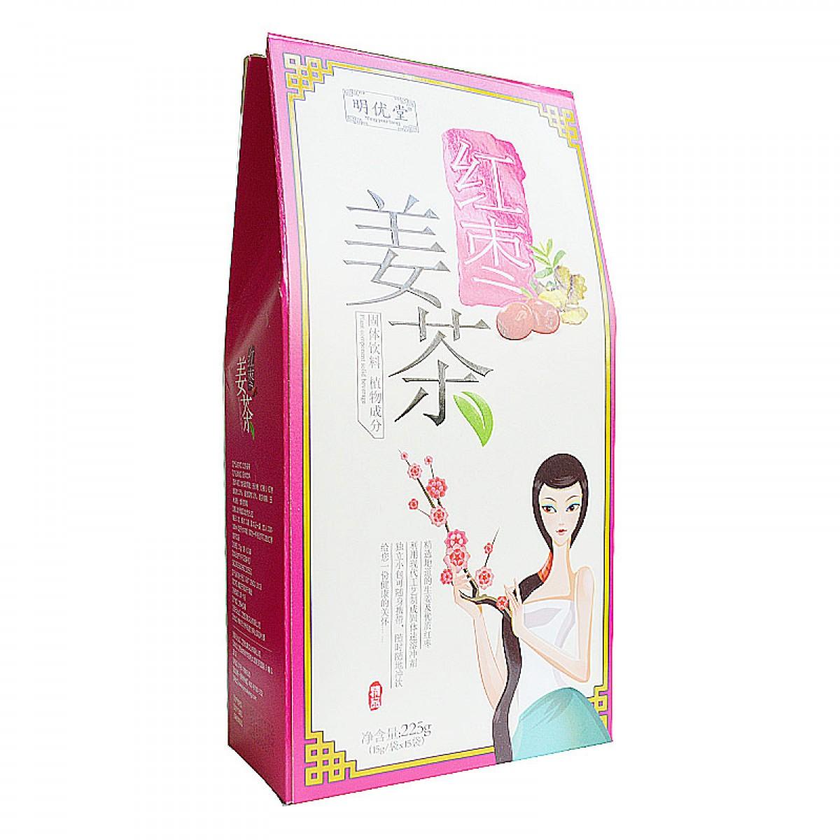 明优堂 红枣姜茶15g*15袋/盒