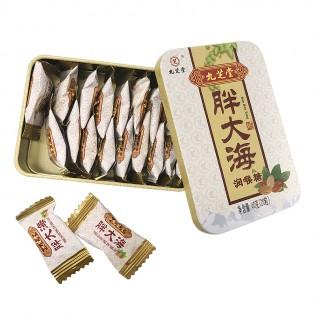 买一送一】九芝堂 胖大海32克(16粒)铁盒 硬糖